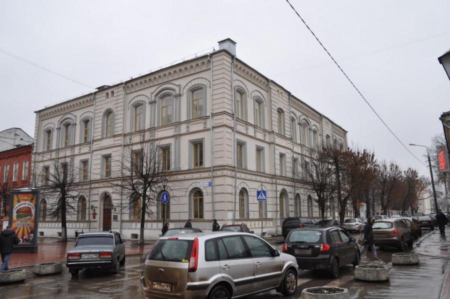 Здание ТвГУ по ул. Трехсвятская, 2011 г.