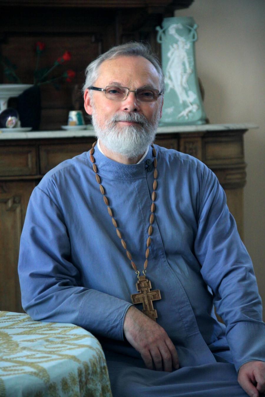 Fr Georgy Kochetkov, Rector of SFI