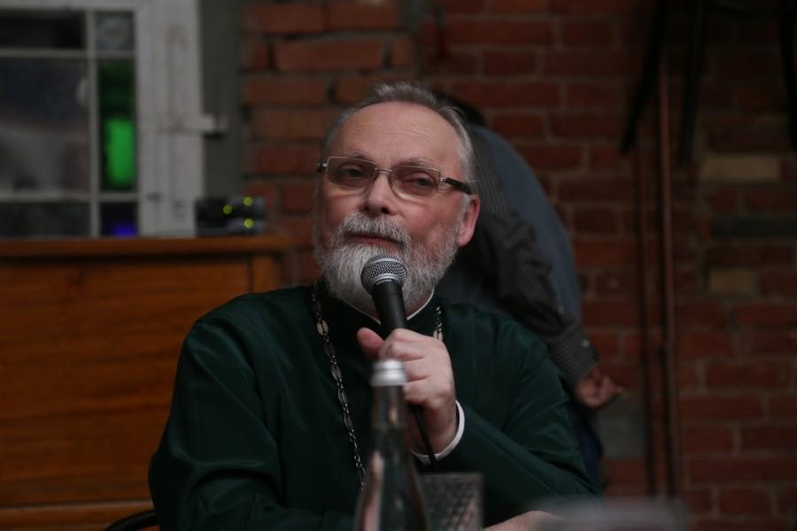 Священник Георгий Кочетков, ректор Свято-Филаретовского института