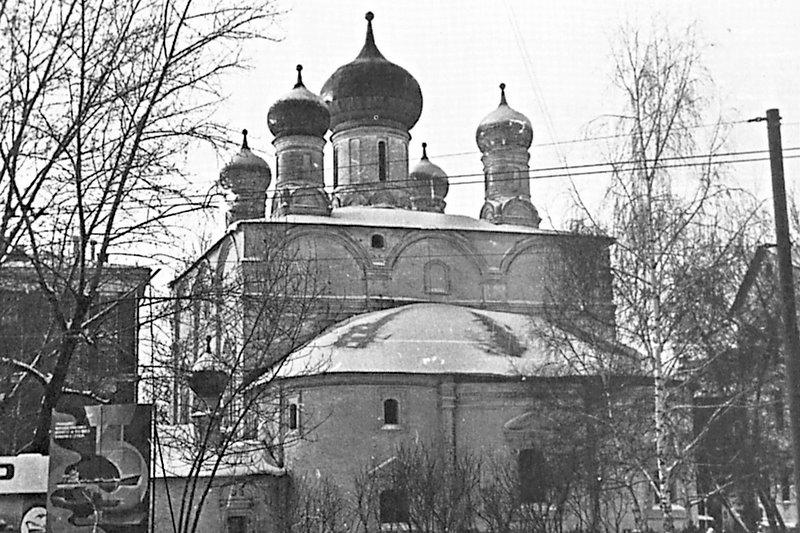 Владимирский собор Сретенского монастыря, нач. 1990-х гг.