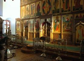 Об обычае служения Божественной литургии при закрытых Царских вратах