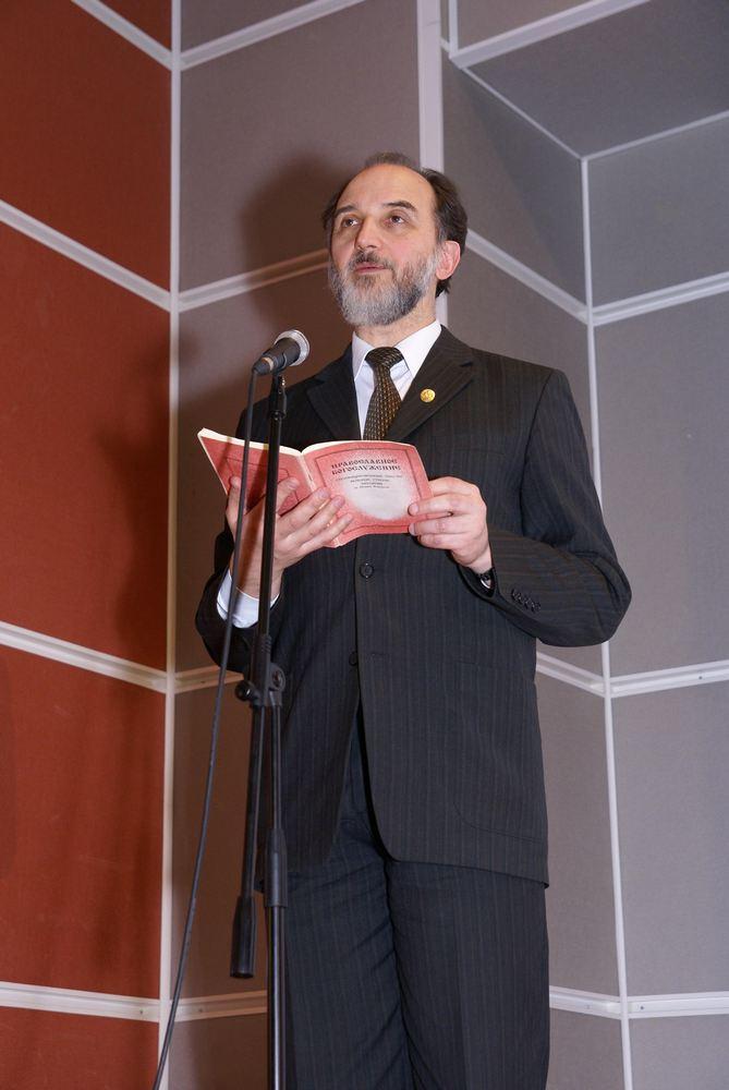 Заключительное выступление ученого секретаря и проф. СФИ, к.пед.н. А.М.Копировского