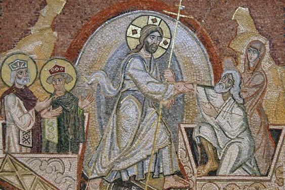 Александр Корноухов. Мозаика «Воскресение Христово»