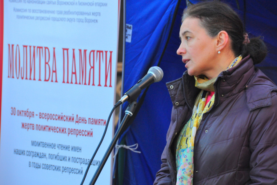 Нина-Инна Ткаченко, член Преображенского братства