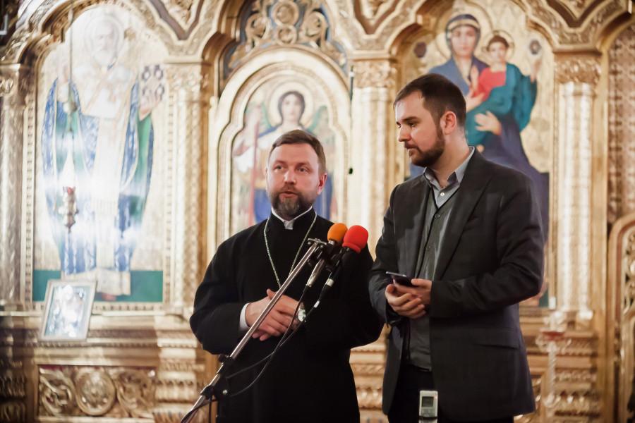 Священник Павел Бибин, Михаил Попеску