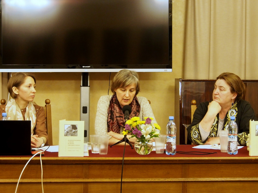 Анна Лепёхина, Юлия Балакшина, Елена Старостенкова