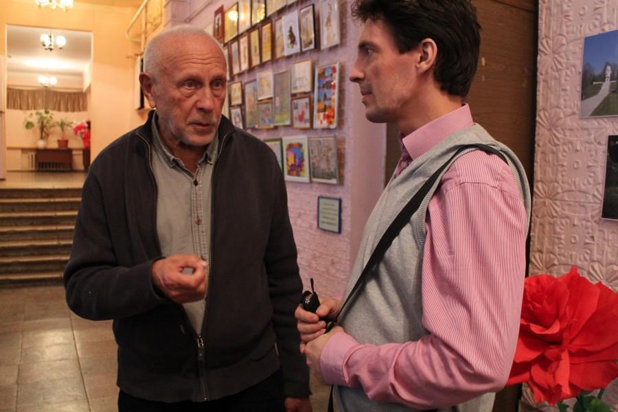 Игорь Шелковский (слева)