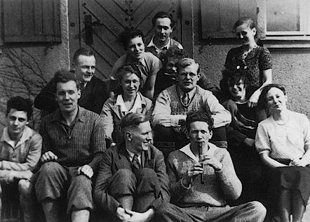 Бонхёффер со своими берлинскими студентами
