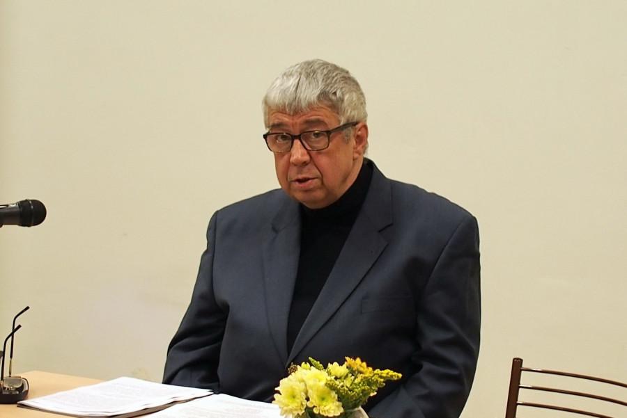 Юрий Михайлович Прозоров, к.ф.н., научный сотрудник Пушкинского дома (ИРЛИ РАН)