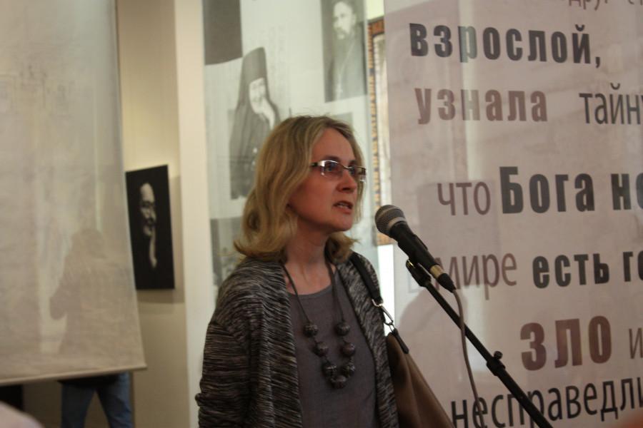 Наталья Соломатина, заведующая сектором рисунка XVIII - начала XX века Государственного Русского музея
