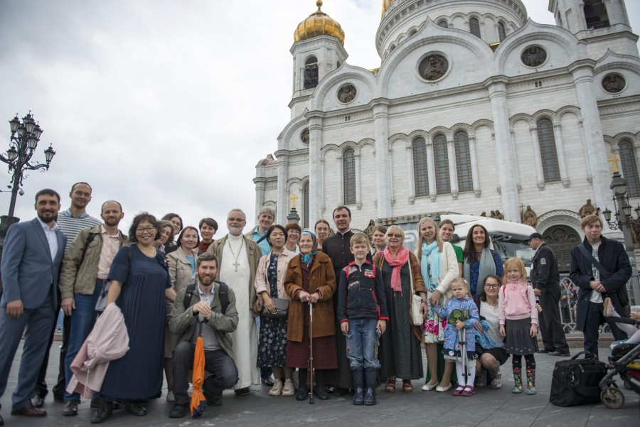 After Liturgy at the Church of Christ the Saviour