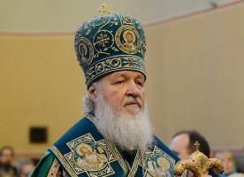 В годовщину интронизации святителя Тихона, Патриарха Всероссийского, Святейший Патриарх ...