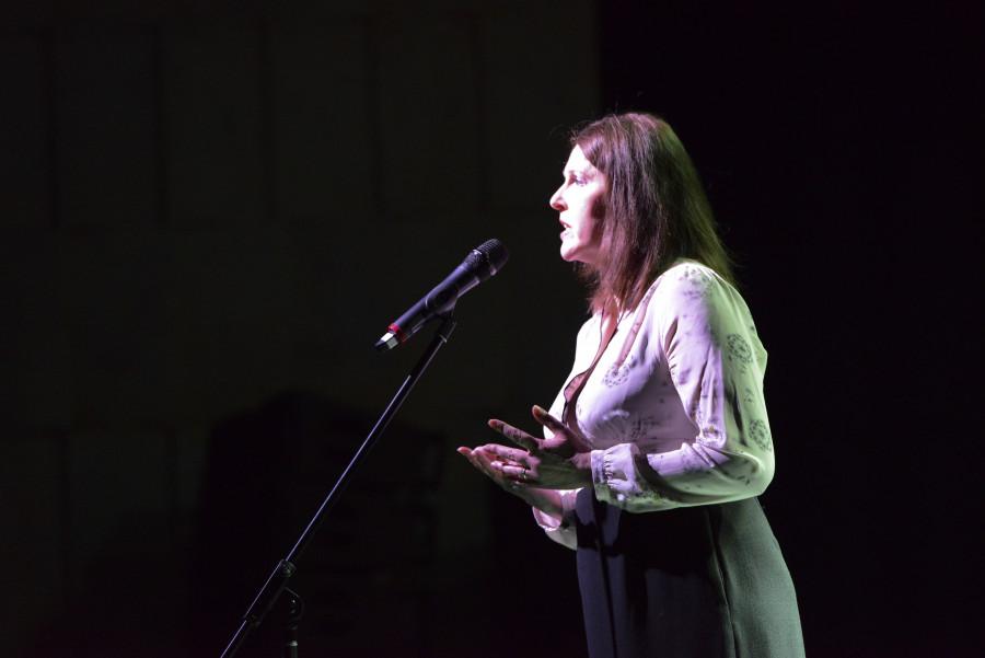 Зоя Кайдановская прочла несколько стихотворений Марины Цветаевой