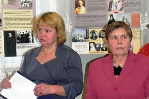Любовь Конопля и Нина Нетесова