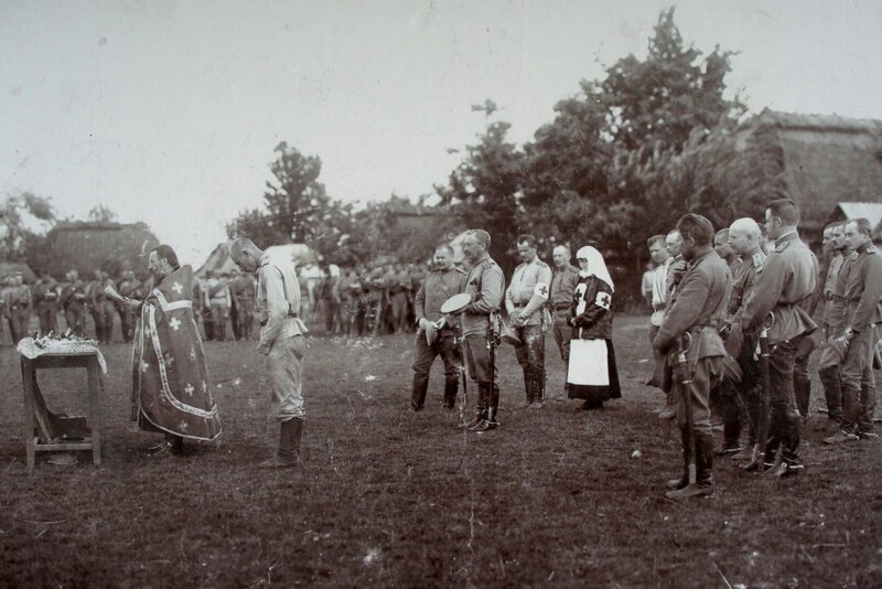 Капелланы в годы Первой мировой войны