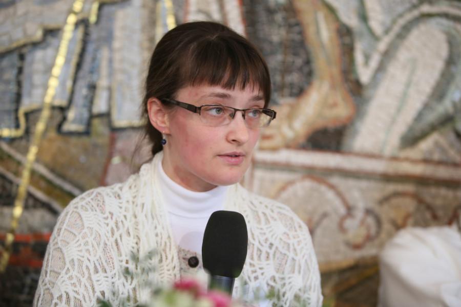О том, как решали вопрос о границах Церкви в русском богословии XX века, рассказала выпускница СФИ Ольга Кузнецова