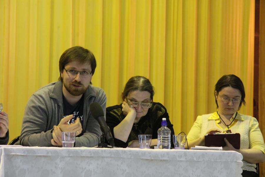 Andrey Vasenyov, Alexandra Kolymagina, Anastasia Nakonechnaya
