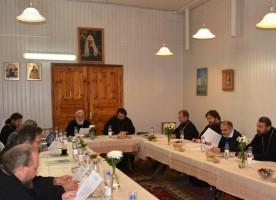 Состоялось очередное заседание комиссии Межсоборного присутствия по вопросам организации ...