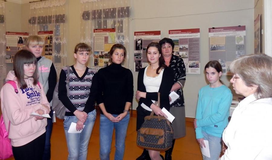 Ученики междуреченской средней школы