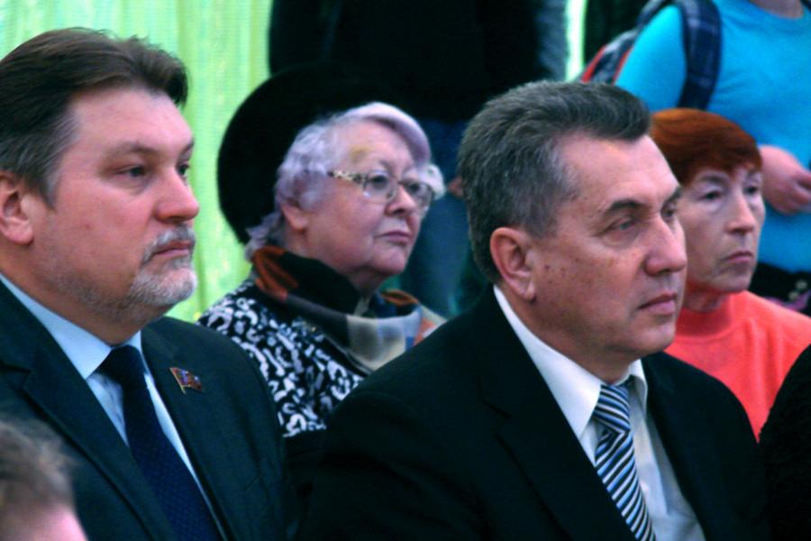 Слева направо: Алексей Мазуров, Александр Квардаков