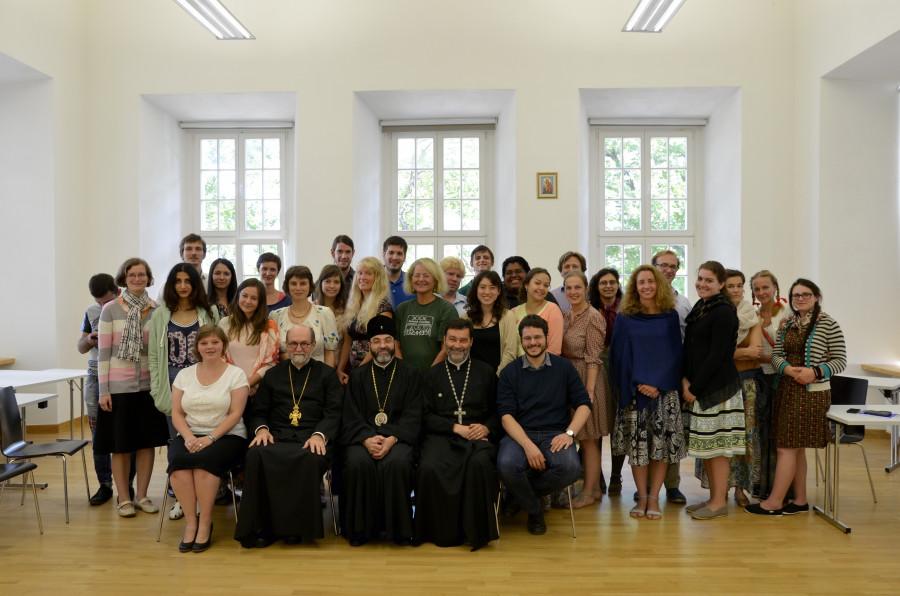 Встреча Синдесмоса с епископом Белостокским и Гданьским Иаковом (в центре)