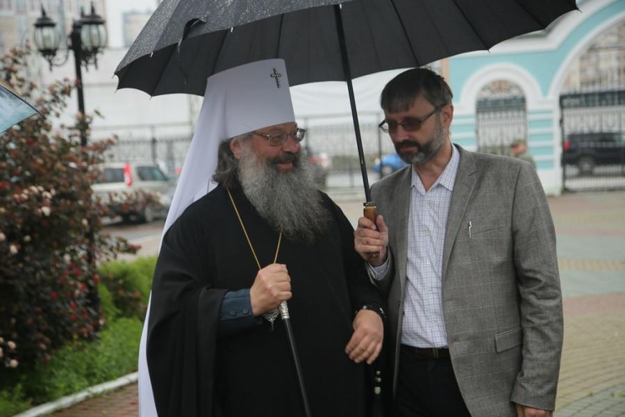 Митрополит Екатеринбургский и Верхотурский Кирилл, Олег Глаголев