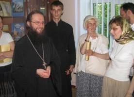 Киевская Духовная Академия принимала паломников из Москвы