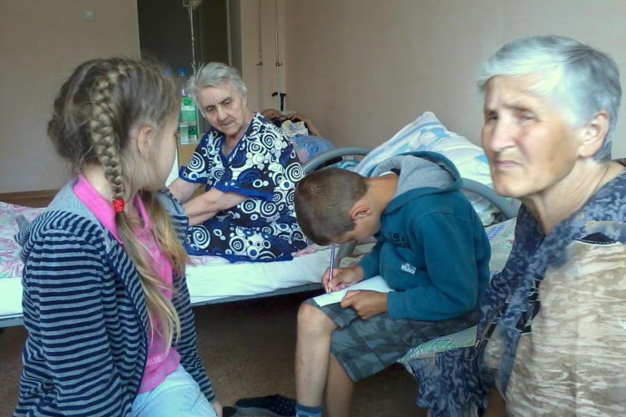 Посещение больницы в г. Михайловске
