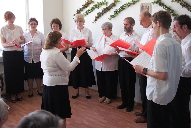 Выступление миссионерского хора
