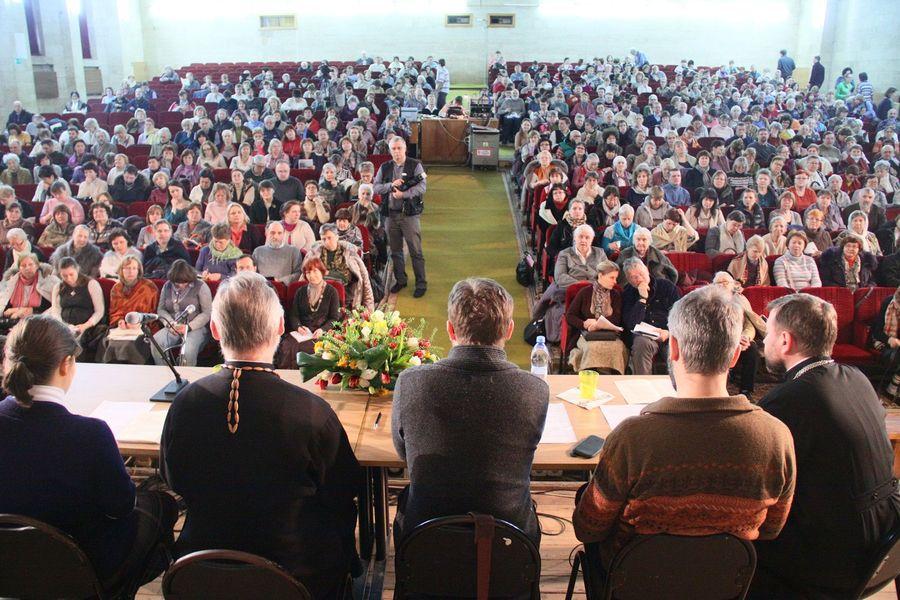 Встреча общин Преображенского братства на Сретение 2015 года