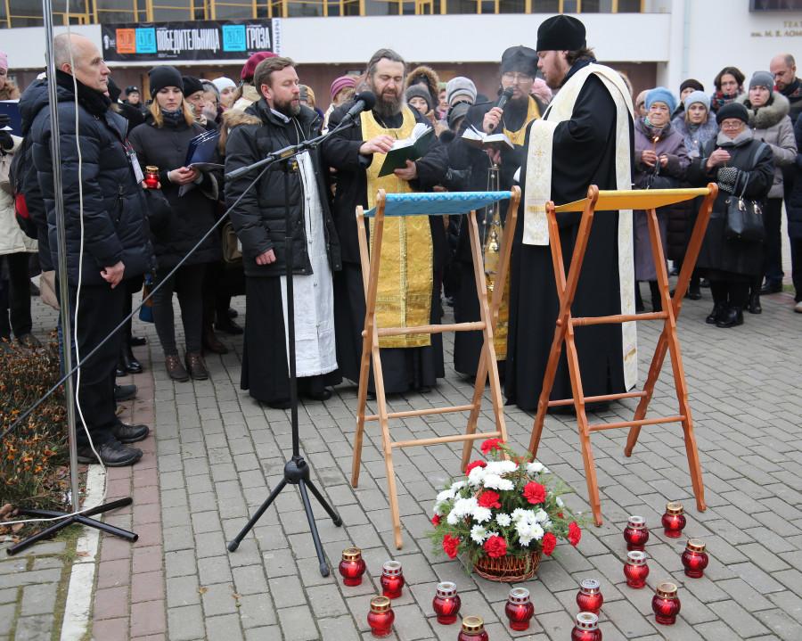 Акция «Молитва памяти» в Архангельске