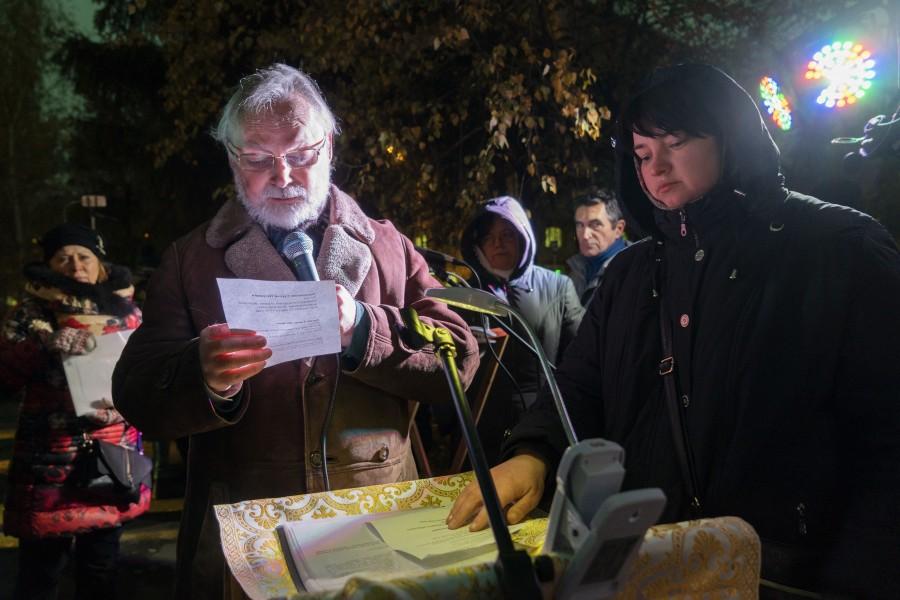 Молитва памяти: Москва, Нахимовский проспект