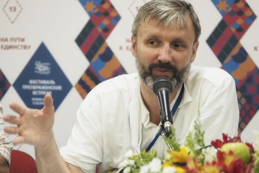 Олег Глаголев, председатель Свято-Елизаветинского малого православного братства, журналист медиапроекта «Стол»