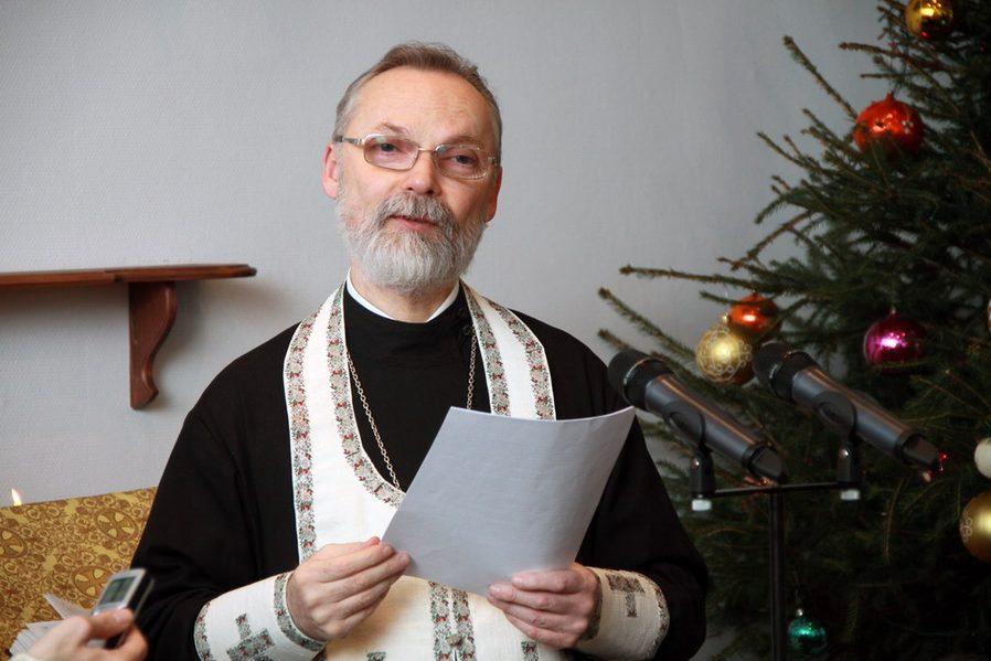 Ректор СФИ профессор священник Георгий Кочетков