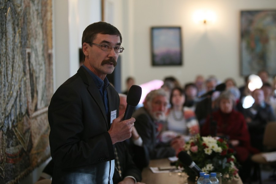 Professor of History Viktor Kirillov, who teaches at the Russian State Professional Pedagogical Institute