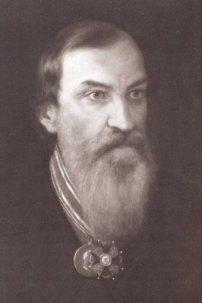 Портрет В.П. Аваева. Художник Д. Болотов, 1878 г.