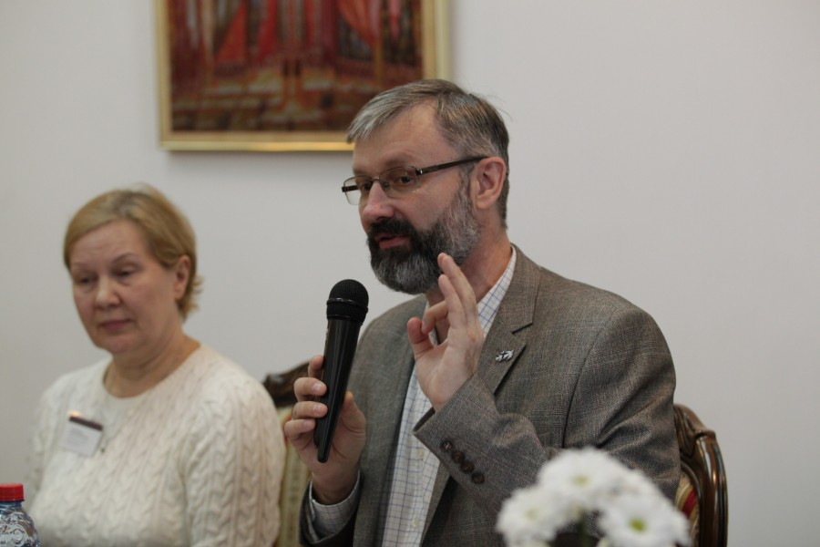 Председатель Свято-Екатериненского братства Олег Глаголев