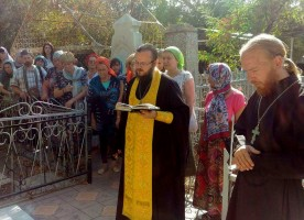 В Самарканде отслужили литию по Алексею Петровичу Арцыбушеву и другим подвижникам веры