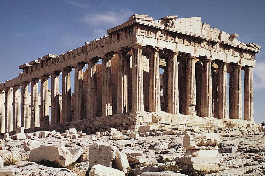 Храм девы Афины Парфенон. Афины. 447—438 гг. до н. э.