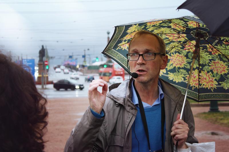 Экскурсия с Григорием Волненко