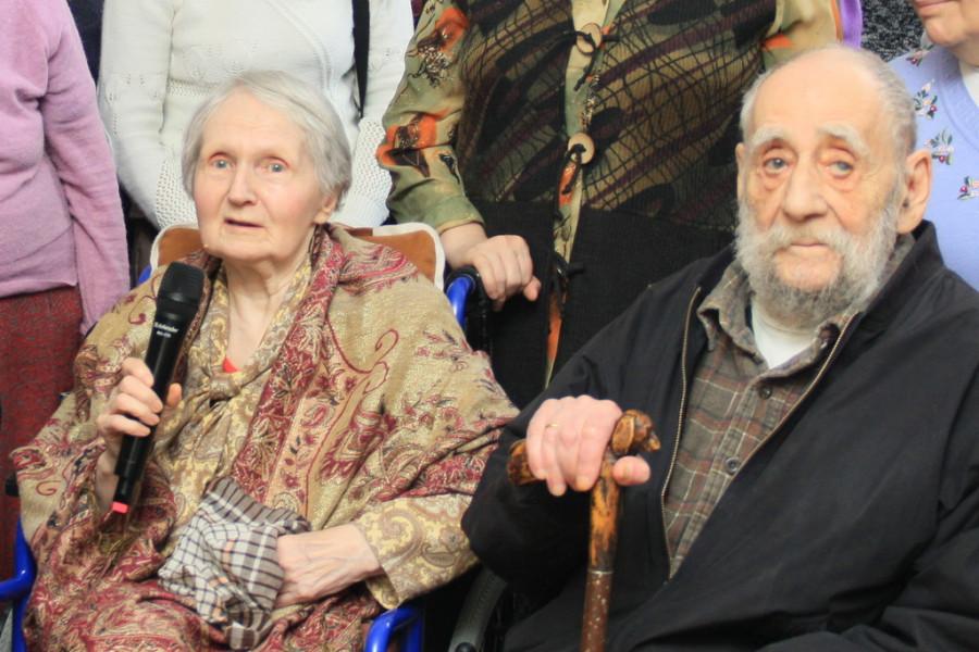 Ефросиния-Лариса Галкина, Леопольд Исаакович Блях