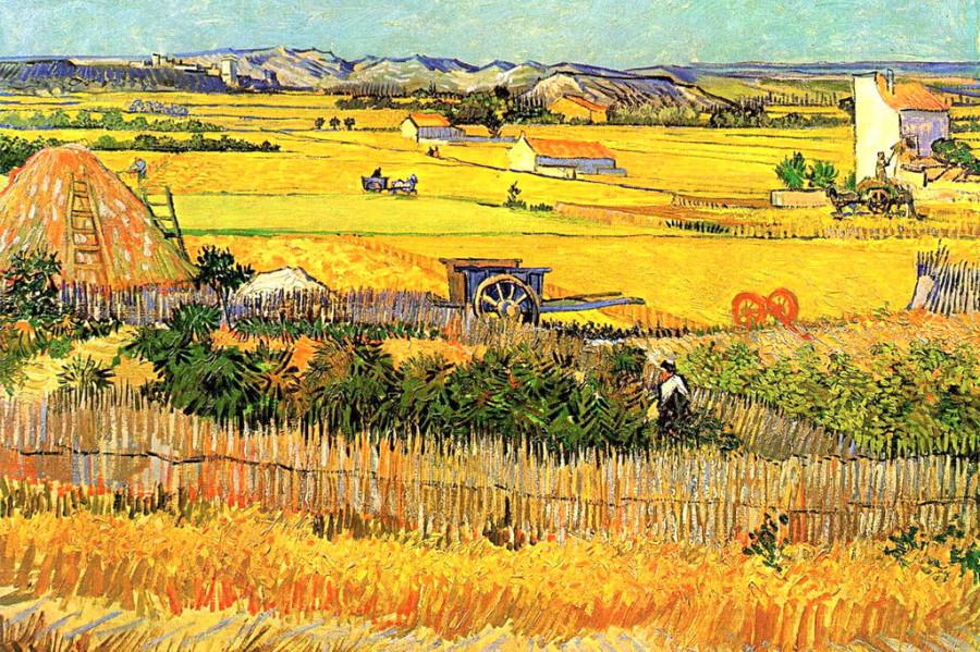 Винсент Ван Гог. Сбор урожая, 1888 год