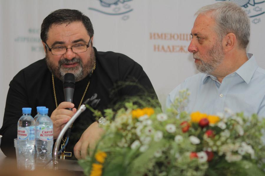 Протоиерей Георгий Митрофанов, Сергей Смирнов