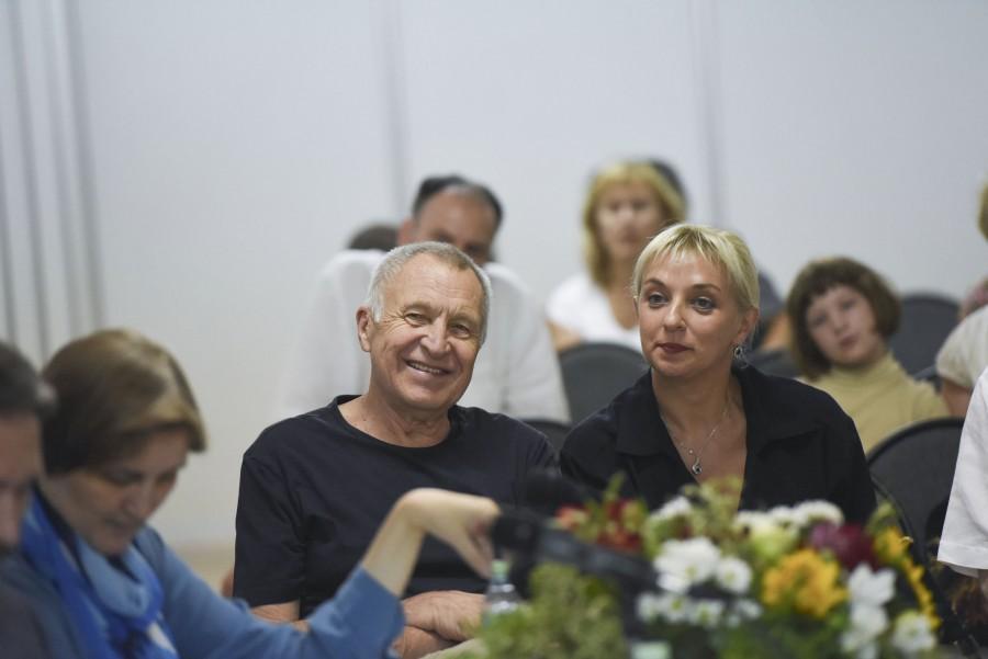 Андрей Смирнов, народный артист России, режиссер; Дарья Виолина, режиссер, кинодраматург