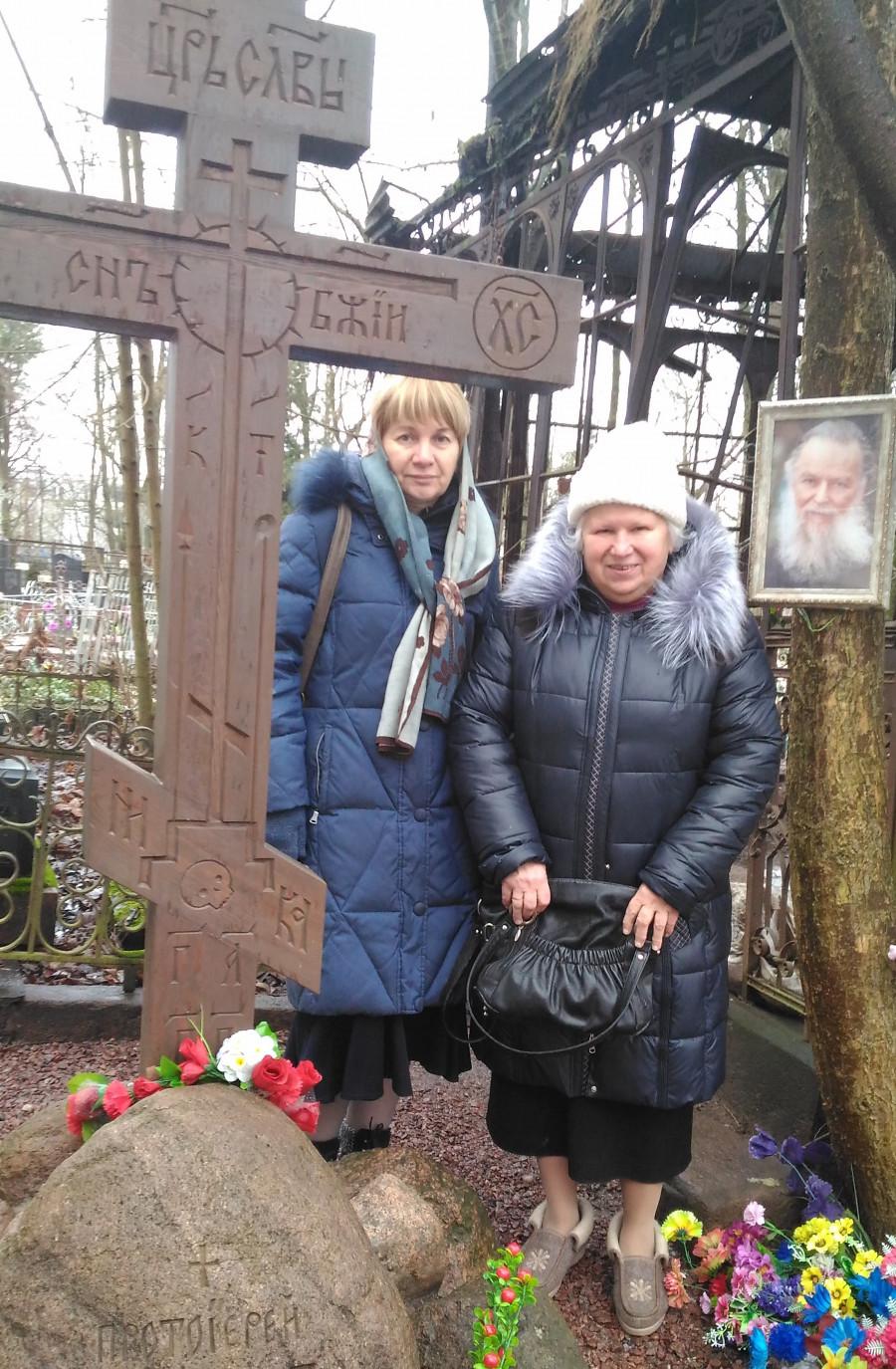 Ольга Борисова, Вера Михайловна Адельгейм, вдова о. Павла