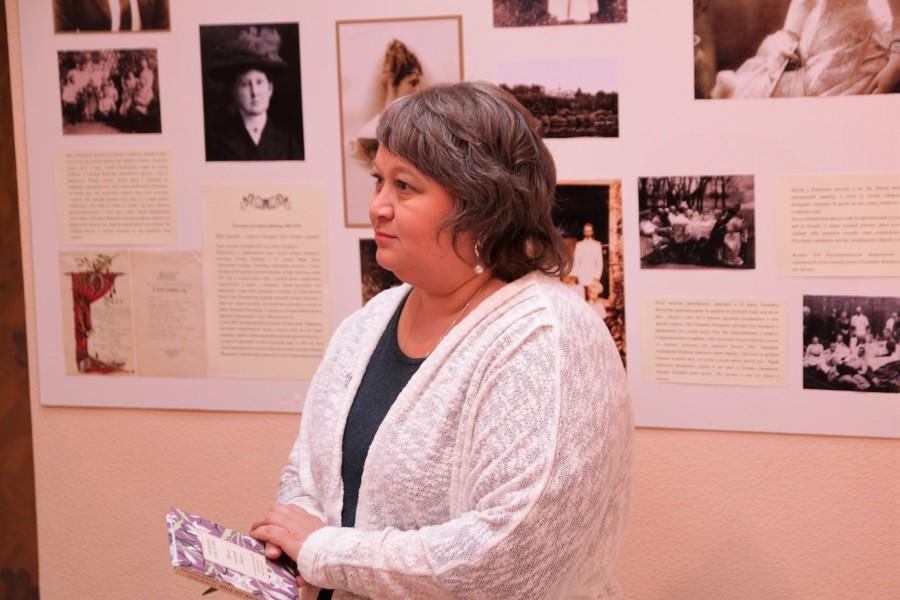 Руководитель выставочного проекта Евгения Парфёнова