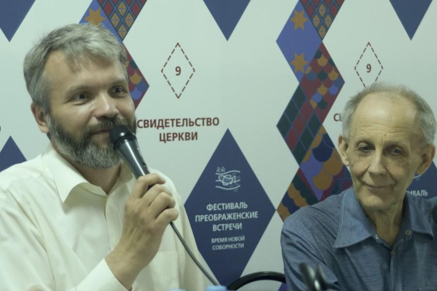Владимир Якунцев и Вячеслав Полищук