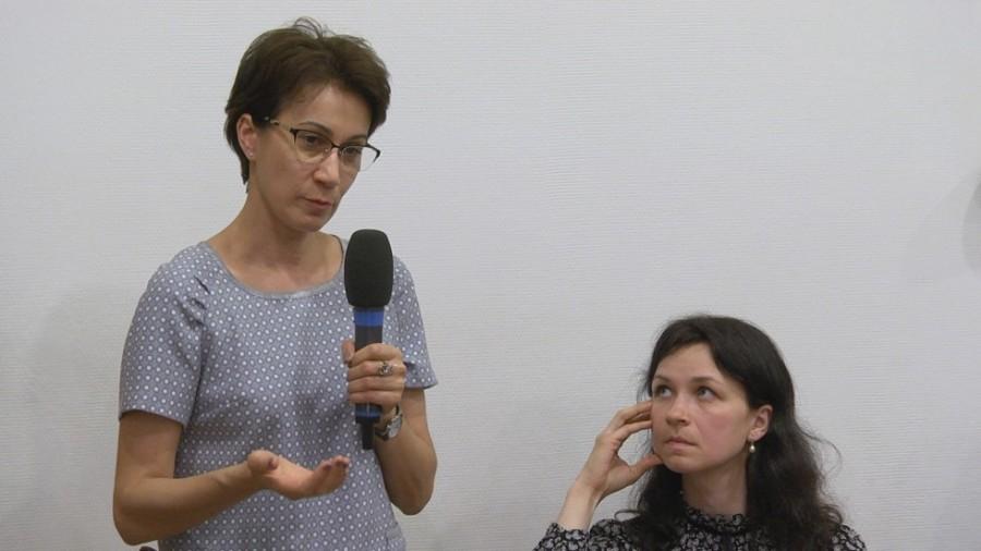 Кира Белелюбская, сотрудник фонда «Старость в радость»