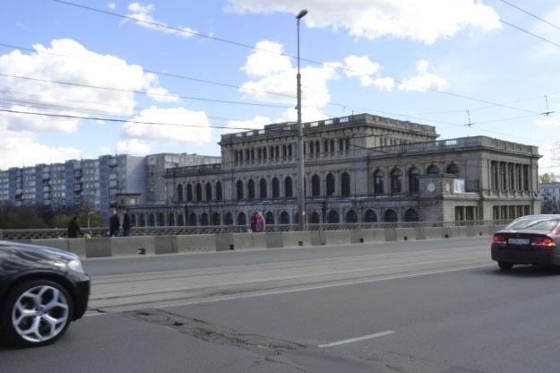 Кёнигсбергская биржа. Здание восстановленно и реконструировано в 1967 г.