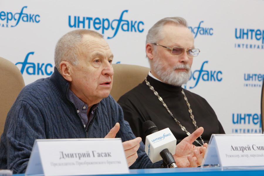 Андрей Смирнов, священник Георгий Кочетков
